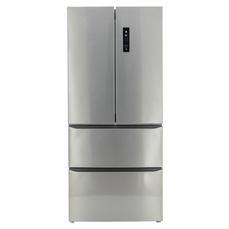 Side by Side Exquisit KC 400 / 130-5 A ++ Inoxlook, Clasa A++, 408L, No Frost, Inox