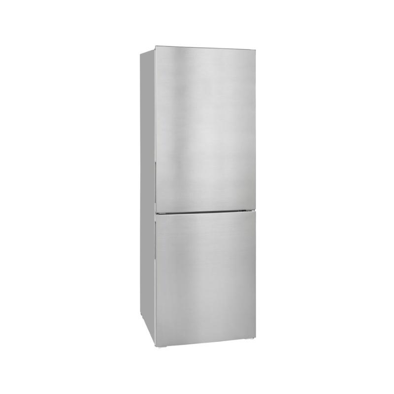 Combina frigorifica Exquisit KGC 320/90-4 A++ Inoxlook, clasa energetica A++, volum net 312 L, No Frost, Inox