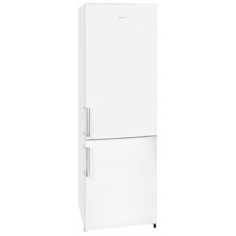 Combina frigorifica Exquisit KGC 265/70-1 A+++, clasa energetica A+++, volum net 264 L, No Frost, Inox