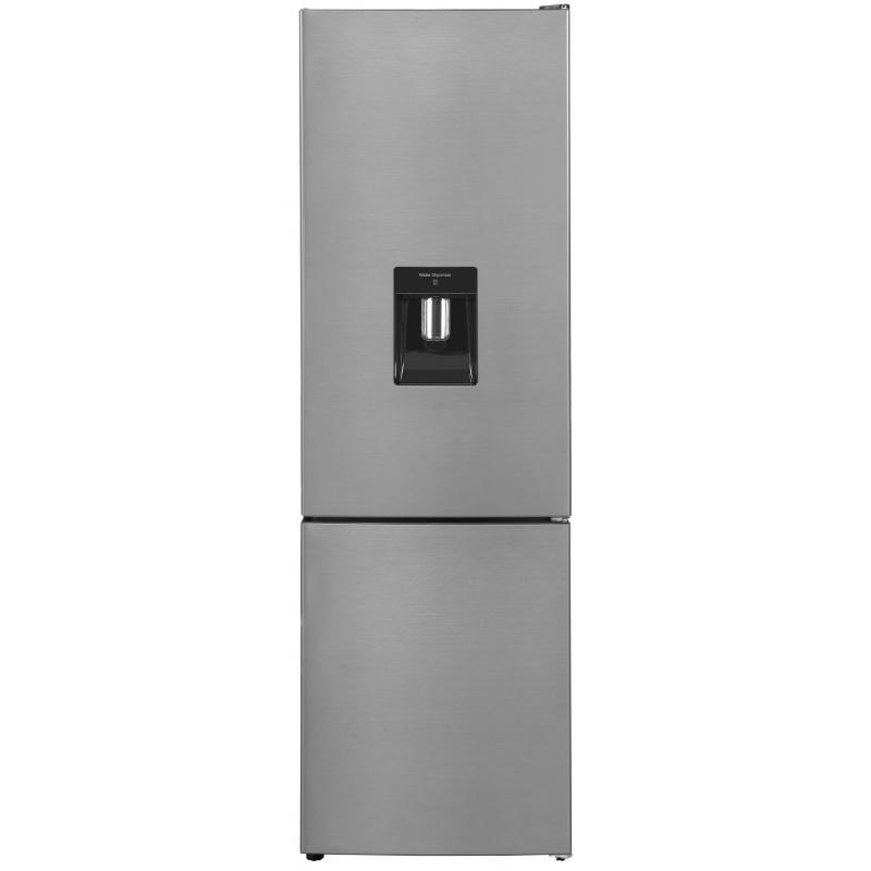 Combina frigorifica Exquisit KGC 260/75-5 LFEWTA++Inoxlook, Dispenser Apa, clasa A++, 262L NoFrost, Inox
