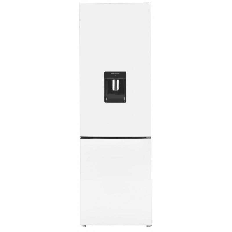 Combina frigorifica Exquisit KGC 260/75-5 LFEWTA++, Dispenser Apa, clasa A++, 262L NoFrost, Alb