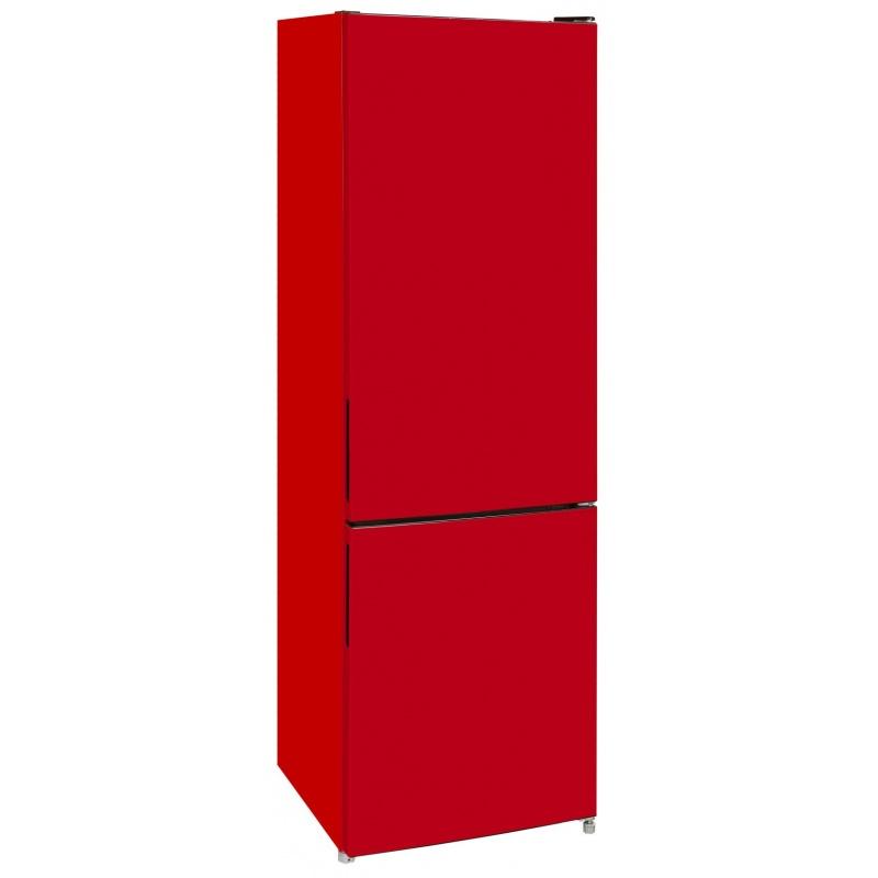 Combina frigorifica Exquisit KGC 260/75-5 LFEA++ Rot, clasa A++, 262L NoFrost, Rosu
