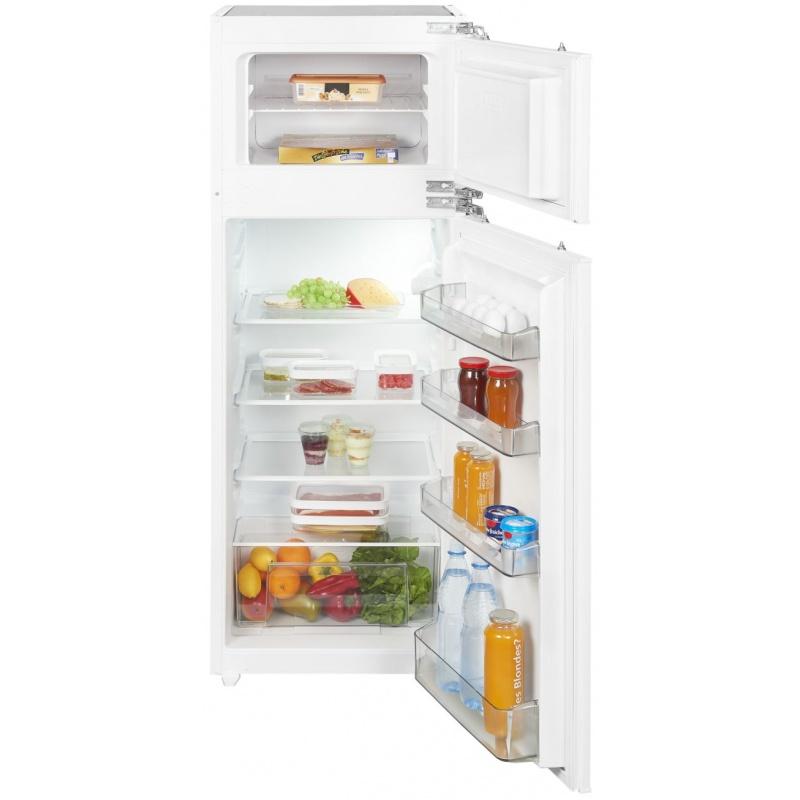 Combina frigorifica incorporabila Exquisit EKGC 265/40-6 FA++, clasa energetica A++, volum net 214 L, No Frost, Alb