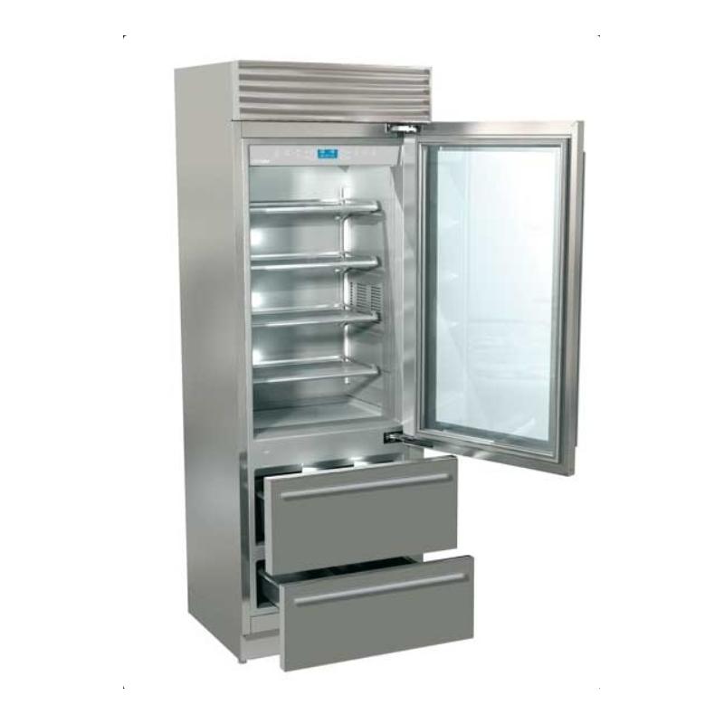 Combina frigorifica Fhiaba XG7490HGT3 X-Pro70, usa din sticla, clasa A++, usa sticla, 467l, inox