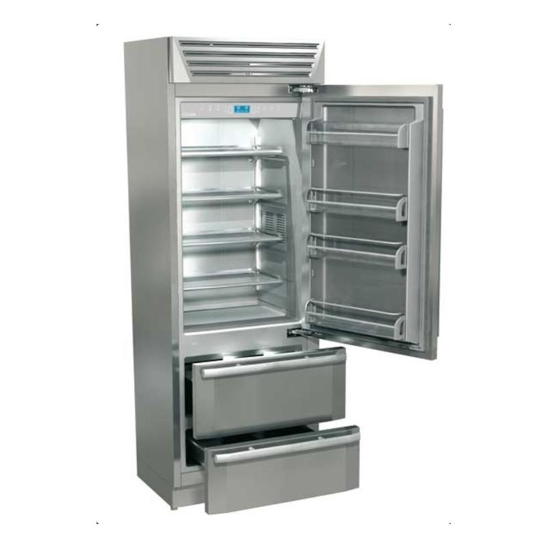 Combina frigorifica Fhiaba MI7490HST3 StandPlus60, 2 zone temperatura,clasa A+, 370 l, inox
