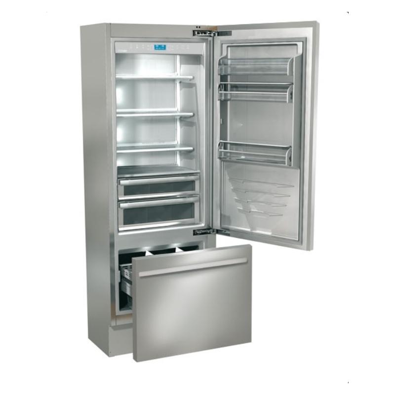Combina frigorifica Fhiaba KI7490TST3 Classic60, 2 zone temperatura, clasa A+, 370 l, inox