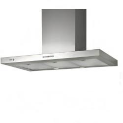 Hota decorativa Fagor CFB-60AXA, 60 cm, 3 trepte de extractie, argintiu