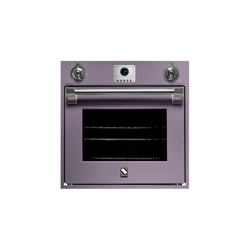 Cuptor electric incorporabil STEEL ASCOT, 60cm, 70lt, 9 functii de gatire, grill electric, convectie, rotisor, mov