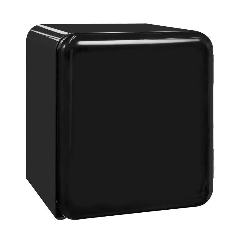 Mini frigider minibar RETRO Exquisit RKB 60-14 A+G, Volum 46 L, Alb