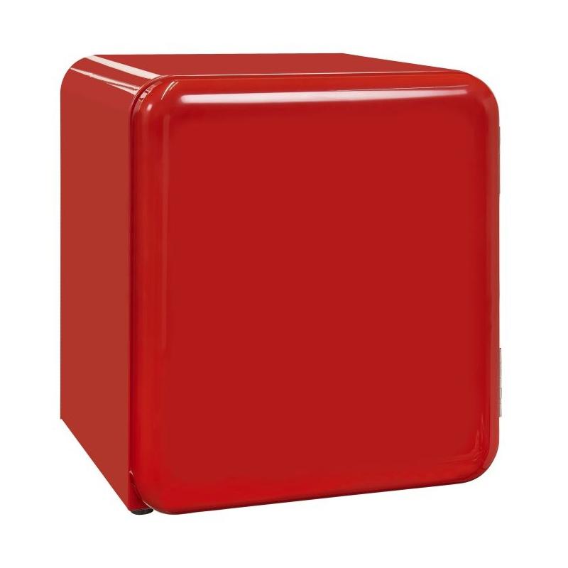 Frigider RETRO tip minibar Exquisit RKB 05-14 A + sw, Volum 48 L, NoFrost, Negru