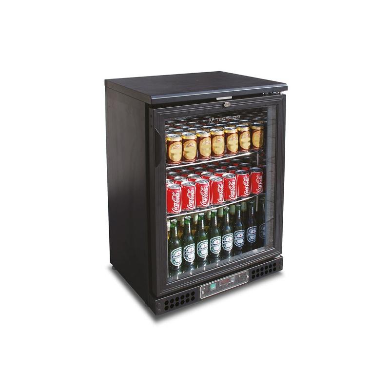 Vitrina frigorifica bauturi Tecfrigo PUB 150, capacitate 150 l, temperatura +2/+8º C, negru