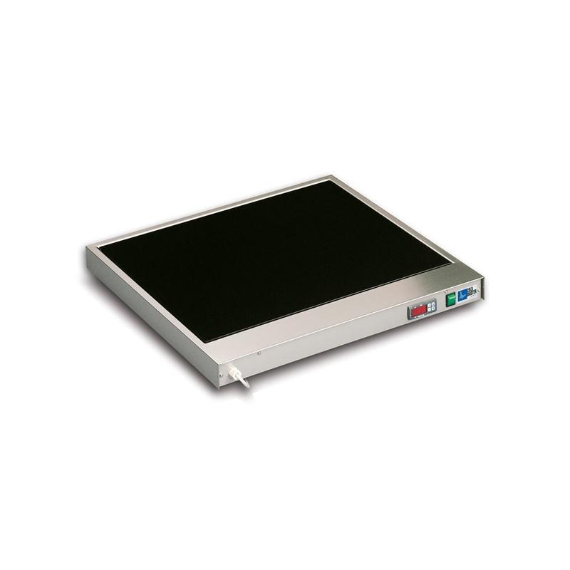Plita vitroceramica fierbinte Tecfrigo Gastronom GN 2/1 Base, pentru mancarurile calde, temperatura +30/+90°C, 600W, inox