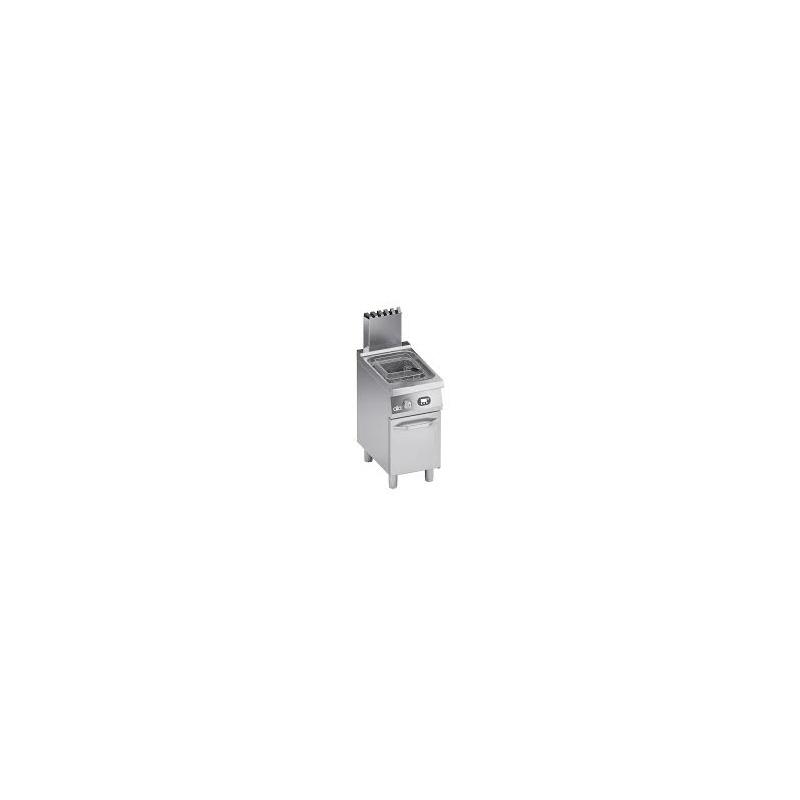 Friteuza simpla pe gaz, Ata Italia K7GFE0515 , seria 700 cu suport inchis, 15 L