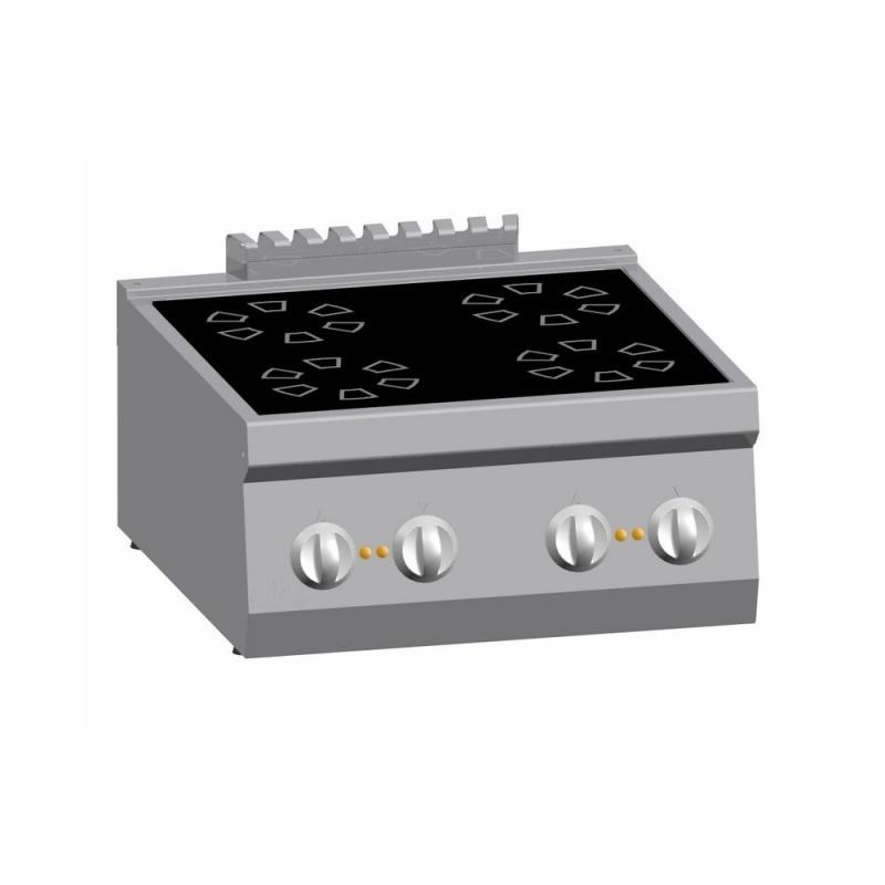 Masina de gatit electrica, Ata Italia K6EVC10TT, cu 4 plite vetroceramice