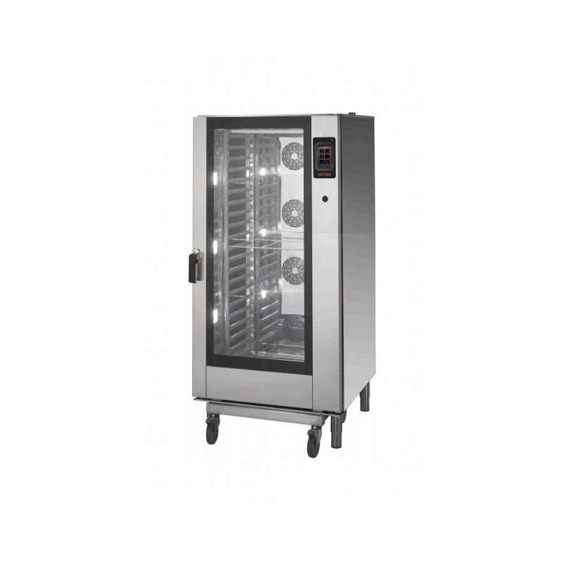 Cuptor electric cu convectie Primax Italia, DTE120 , abur 20 GN1/1 + carucior tavi, control touchscreen, GASTRO PLUS