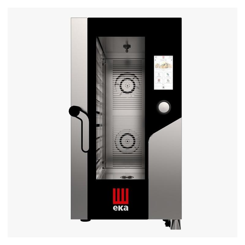 Cuptor electric gastronomic Eka Italia, MKF1011CTS combi MILLENNIAL cu 10 tavi si control digital