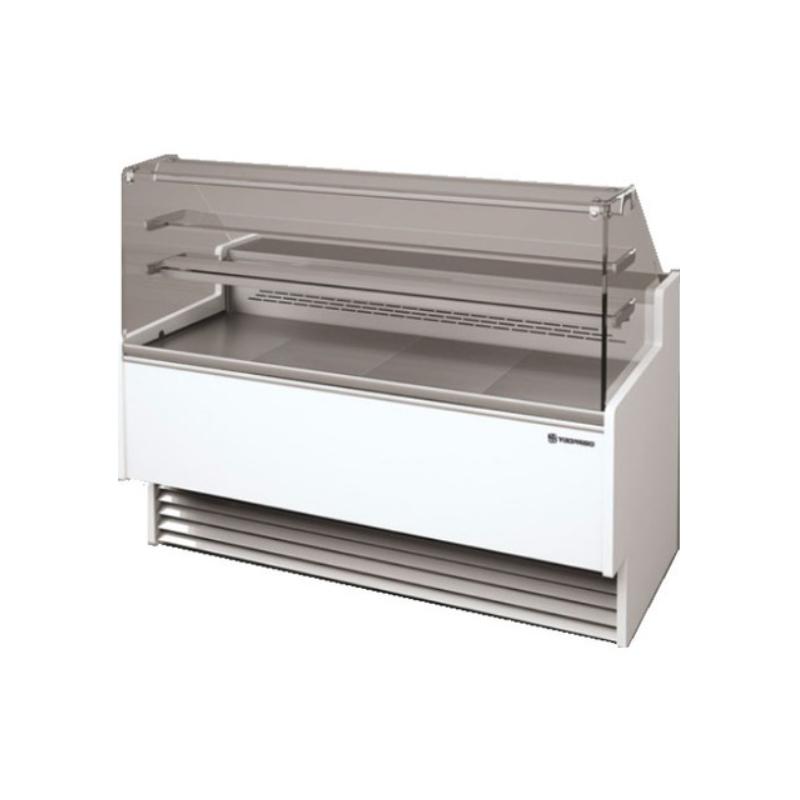 Vitrina frigorifica inghetata Tecfrigo Strike 1100 VD, putere 660W, temperatura +4/+10ºC, alb