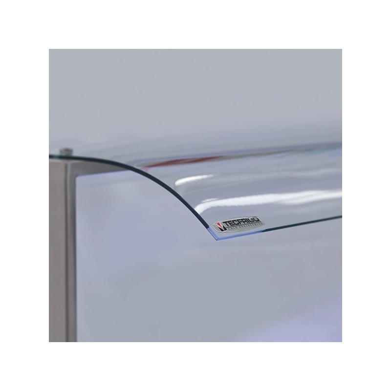 Vitrina frigorifica cu expunere incorporabila Tecfrigo SAMBA 3 GN, putere 710 W, lungime 112.2 cm, +4/+10 ºC, argintiu