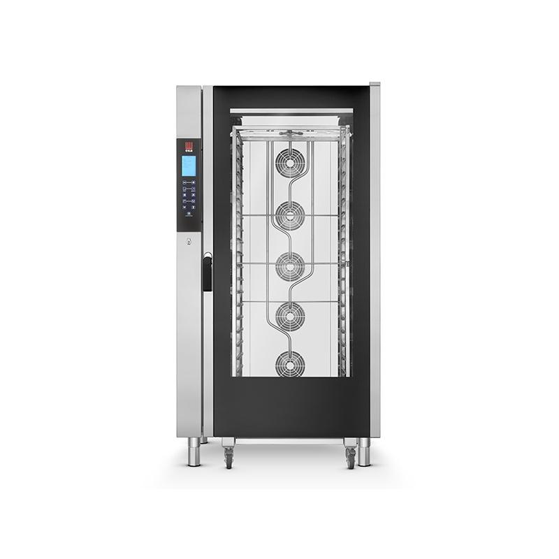 Cuptor electric gastronomic Eka Italia, EKF 1664 TC combi-steamer Evolution, 16 tavi, control digital
