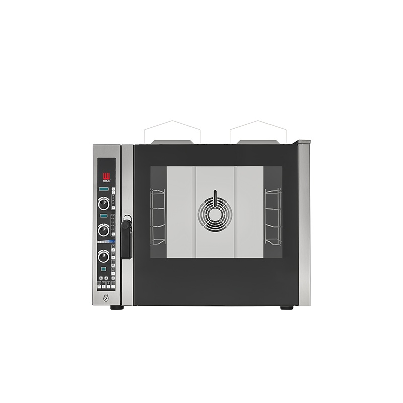 Cuptor pe gaz gastronomic Eka Italia, EKF 464 G E UD combi-steamer Evolution, 4 tavi, control electronic