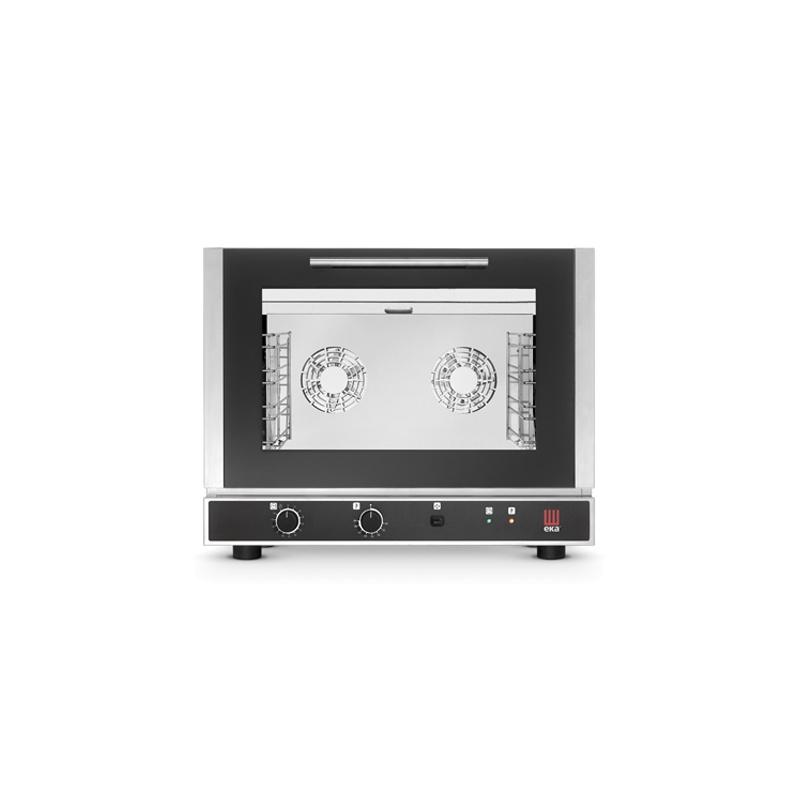 Cuptor electric gastronomic Eka Italia, EKF 411 combi Evolution, 4 tavi, control electromecanic