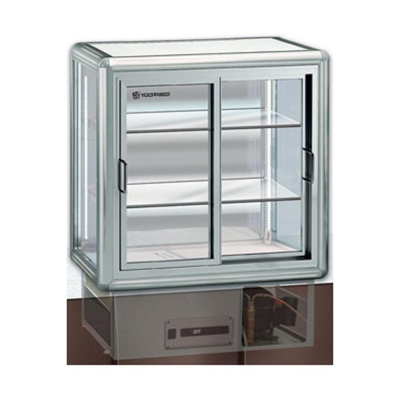 Vitrina frigorifica incorporabila Tecfrigo SNOOPINO, putere 260 W, capacitate190 l, temperatura +4/+10, argintiu
