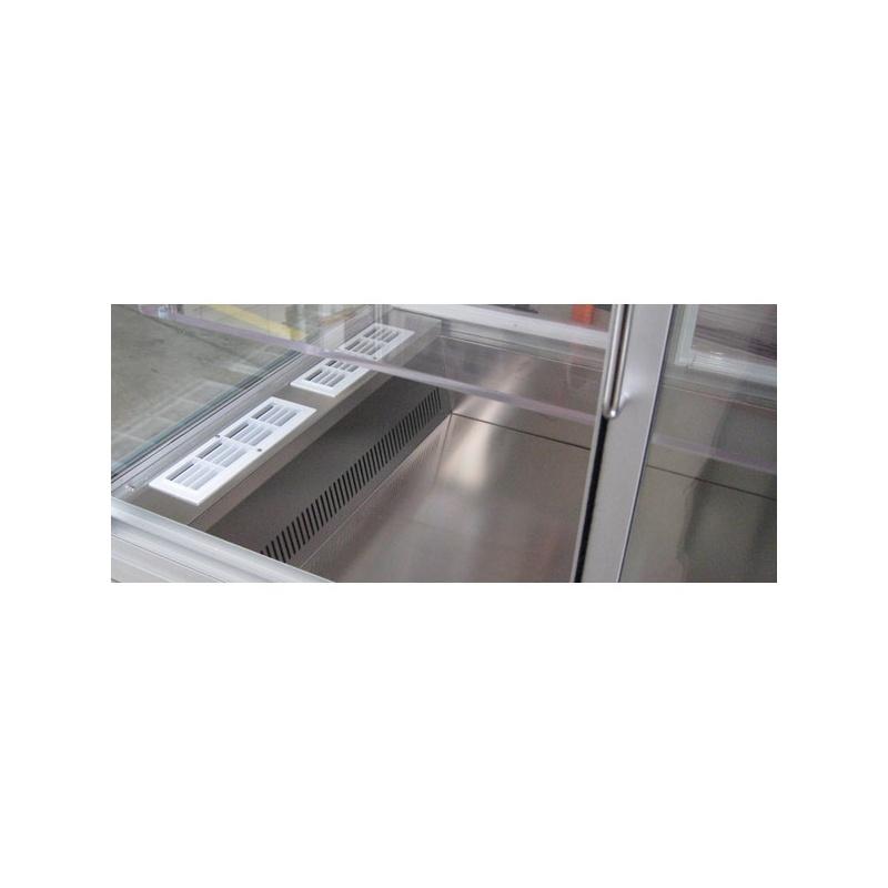 Vitrina frigorifica incorporabila Tecfrigo Style Vasca VFS, putere 617 W, temperatura +4/+10, argintiu