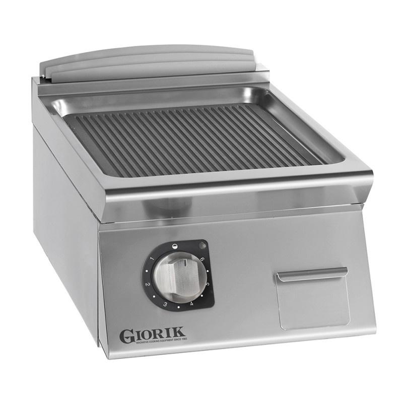 Gratar electric Giorik, FRE92TX, Unika 900, suprafata de gatit striata, crom