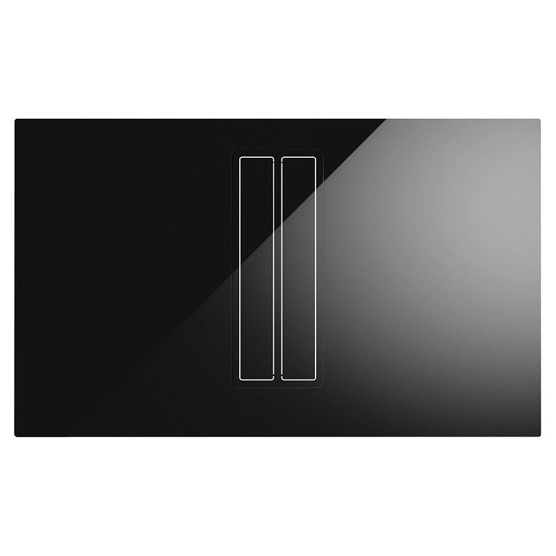 Plita inductie cu extractie integrata ILVE Professional Plus HVI90AG, 90 cm, 4 zone gatit, booster, Bridge, sticla neagra