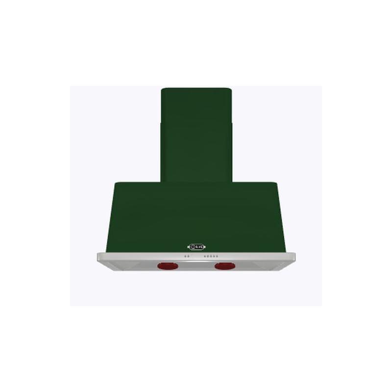 Hota decorativa Ilve Majestic AM90 ,90 cm, 1 motor, 4 viteze, 890 m3/h, clasa A, verde