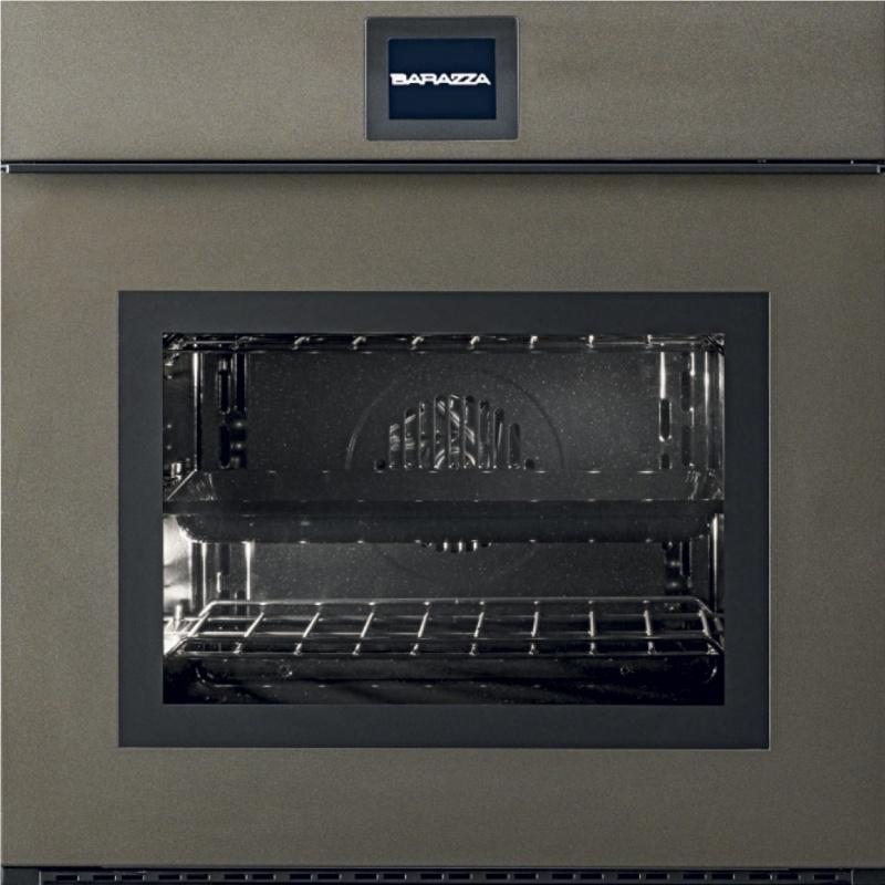 Cuptor incorporabil Barazza Velvet 1FVEBM 60 cm 65l touch screen bronz mat