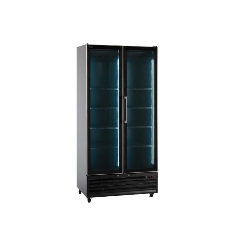 Vitrina frigorifica Klimaitalia I COOL 110 JUMBO BLACK, capacitate 960 l, temperatura 0/+10°C, negru