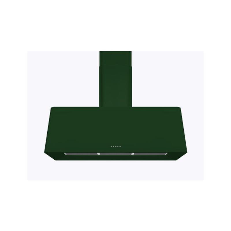 Hota decorativa Ilve Nostalgie AG100 ,100 cm, 1 motor, 4 viteze, 890 m3/h, clasa A, verde