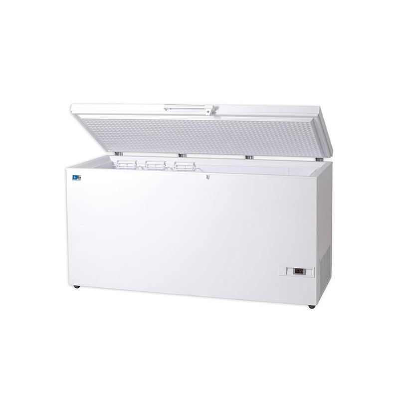 Lada frigorifica Tecfrigo ELVT 310, putere 400 W, 284 litri, lungime 126.5 cm, -25/-45°C, alb
