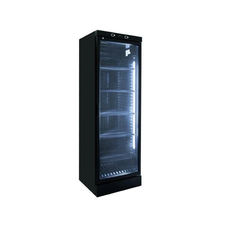 Vitrina de vinuri Klimaitalia CLW 372 VG, 126 sticle, 2 zone temperatura, negru