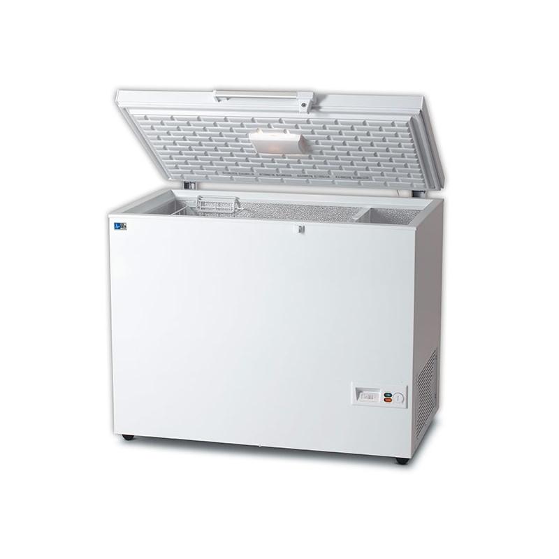 Lada frigorifica Tecfrigo AB 425, putere 140 W, 399 litri, lungime 137 cm, -16/-26°C, alb