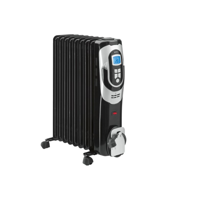 Radiator electric cu ulei, AEG RA 5588, 9 Elementi, Negru