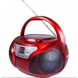 Radio stereo cu cd, AEG SR 4365, Rosu