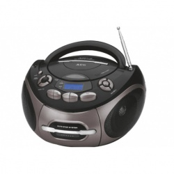 Radio stereo cu cd, AEG 4366, Black