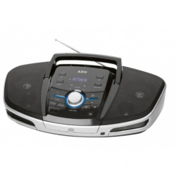 Radio stereo cu cd, AEG SRP 4354 Bluetooth, Black