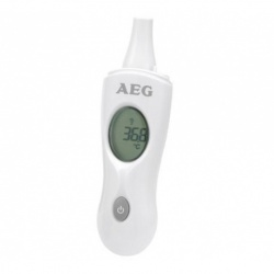 Termometru cu infrarosu pentru ureche, AEG FT 4925, Alb