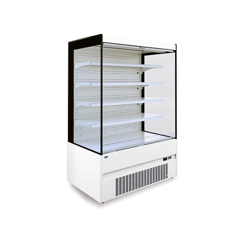 Vitrina frigorifica supermarket Tecfrigo Space Plus 91.1, 2060 W, lungime 86 cm, +2/+4, alb