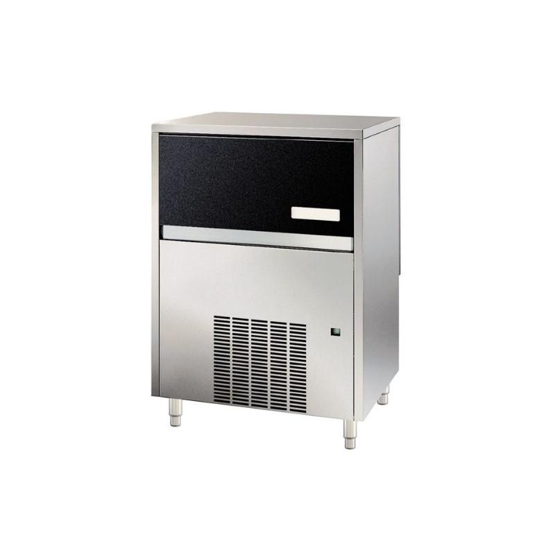 Aparat de facut cuburi gheata Klimaitalia MG 24 AZ Inox, capacitate 6 l, 260 W, 26kg/24h, Argintiu
