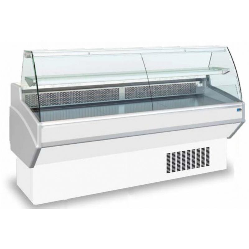 Vitrina frigorifica supermarket Tecfrigo JOLLY 101 CS, 340 W, lungime 104 cm, +3/+6, alb