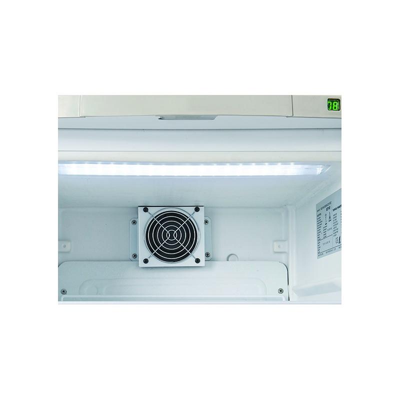 Frigider minibar vertical Cool Wise RCF 60, capacitate 60 l, temperatura 0° +10°C, negru