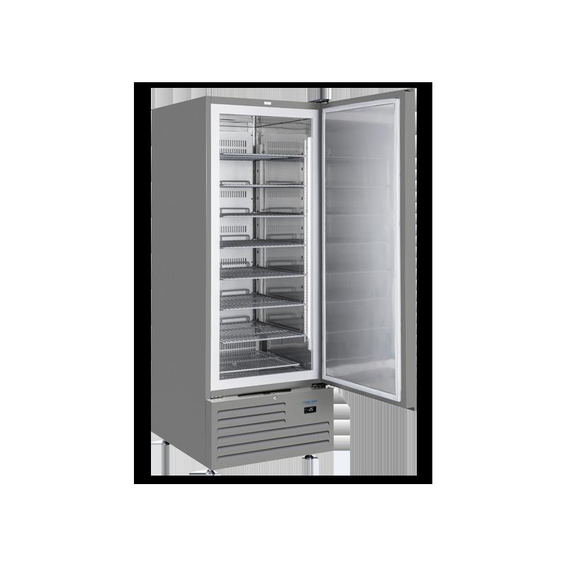 Congelator profesional Cool Head GET 688S, capacitate 600 L, temperatura -18°C/ -25°C , gri