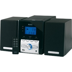 Sistem audio AEG MC 4443 negru