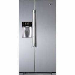 Side by Side Haier HRF-628IF6, 550 l, No Frost, functie Holiday, clasa A+, Inox
