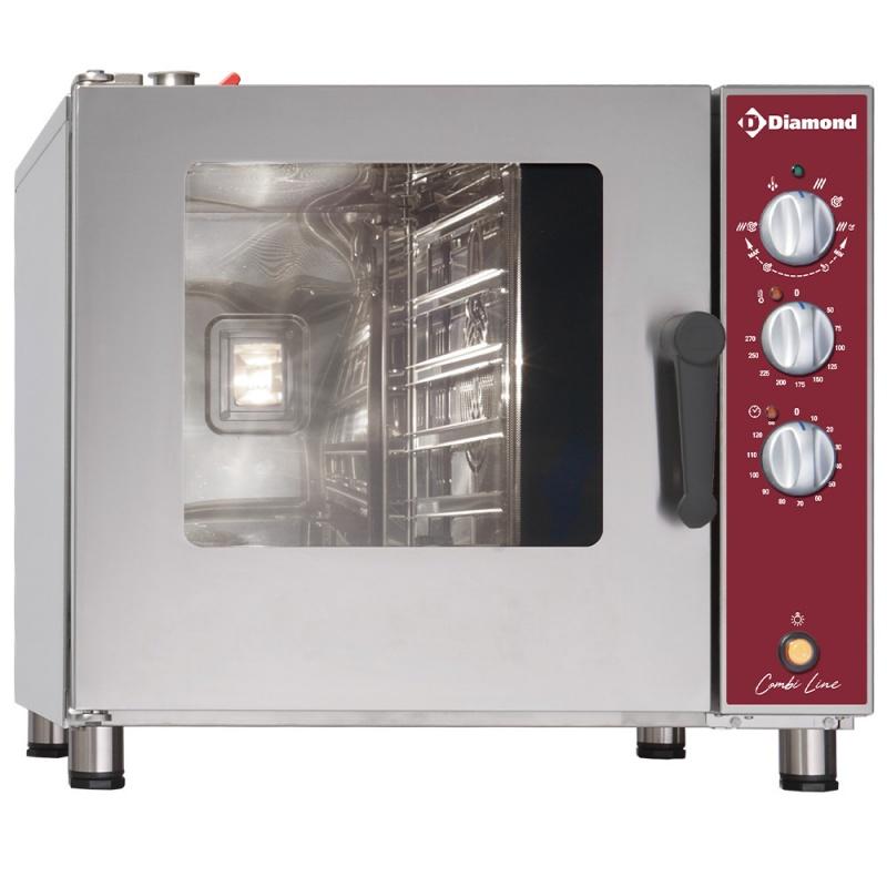 Cuptor gastronomic electric Diamond DFV-511/P combi steamer