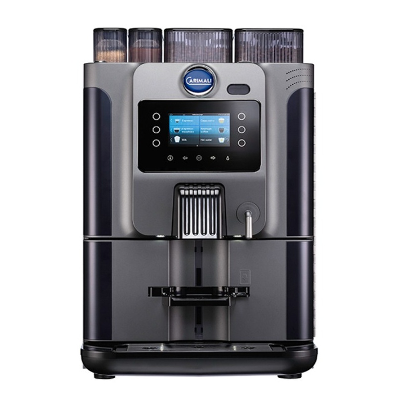 Automat de cafea Carimali Blue Dot.1 display 4K 1 rasnita rezervor apa gri mat